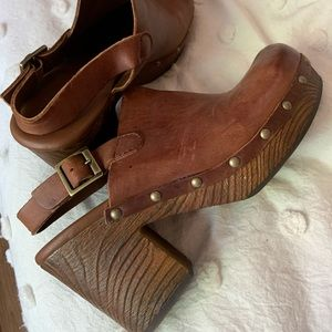 KORKS chunky heel